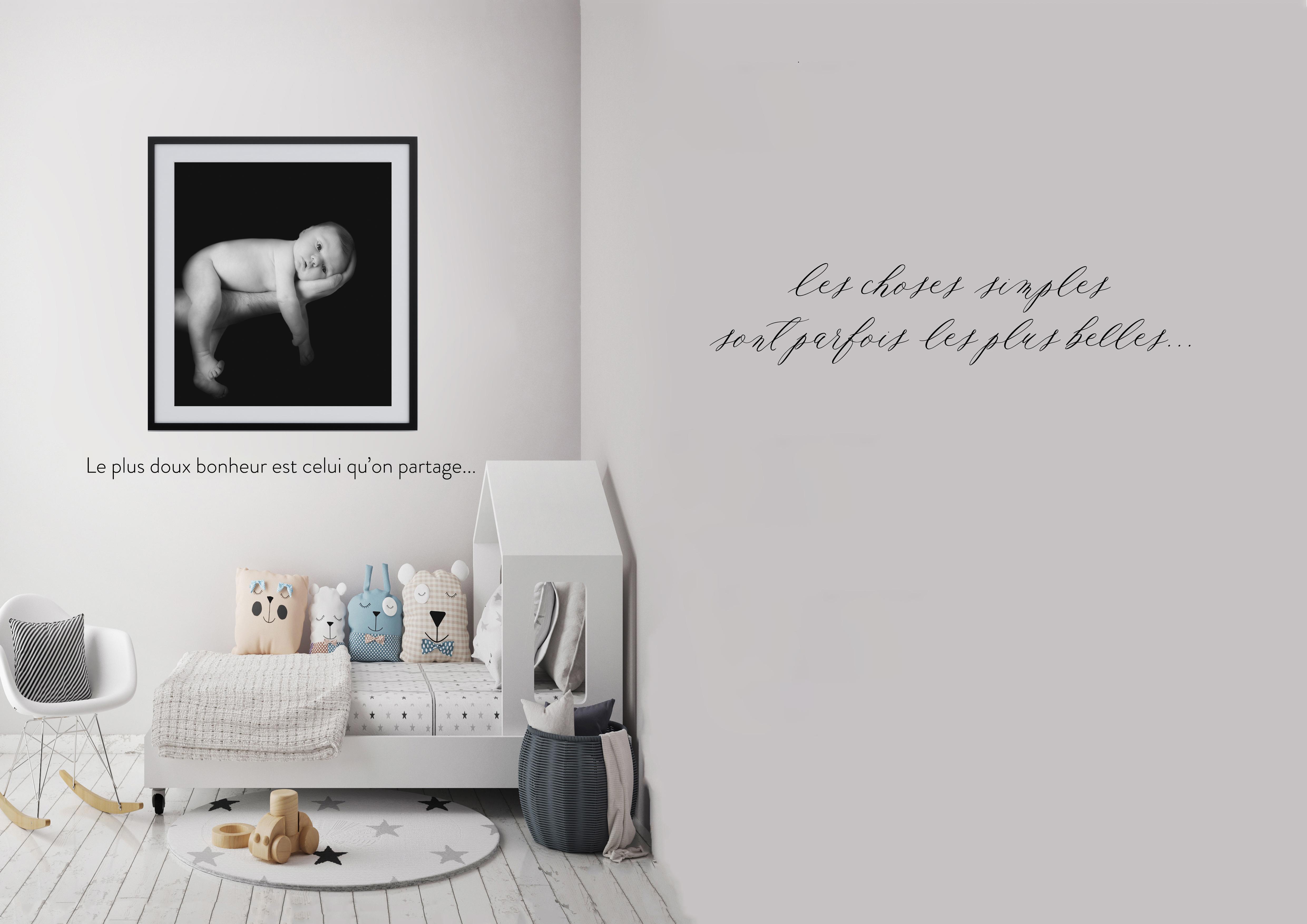 Les cadres et le toiles - Mélanie Durand photographe grossesse, bébés, enfants et famille à Ventabren