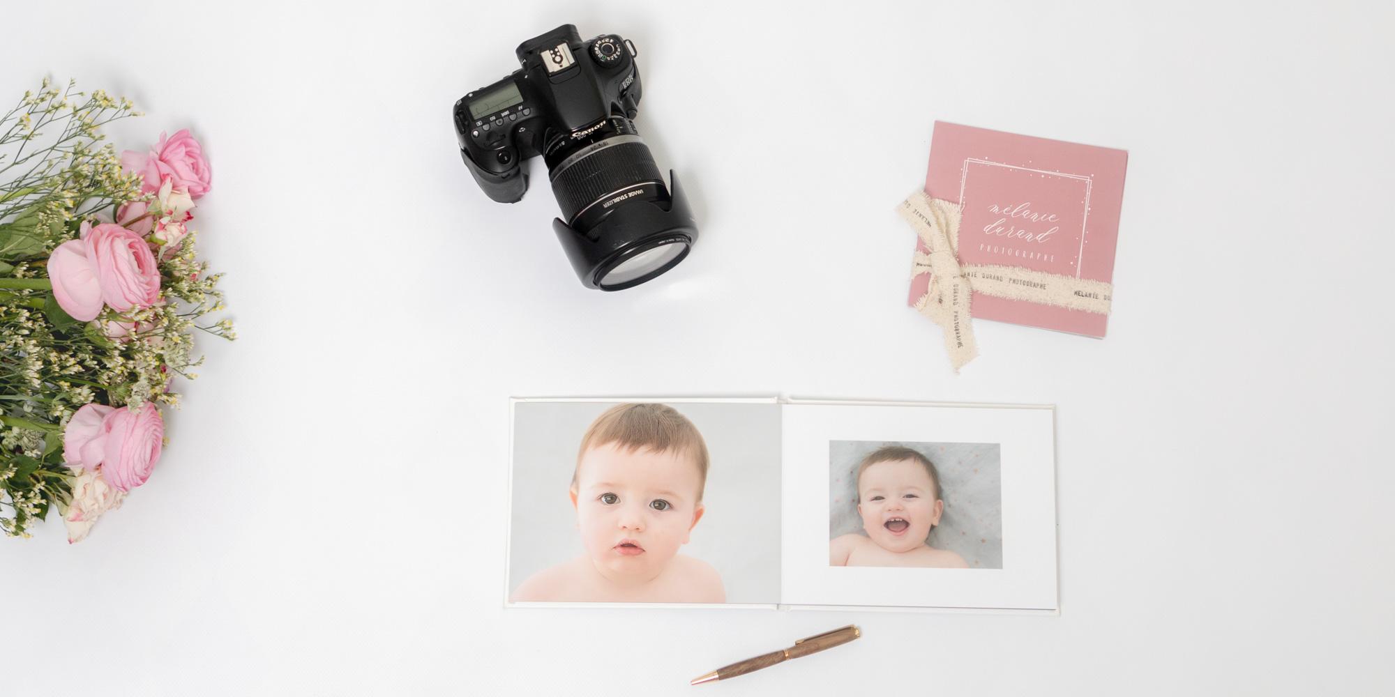 Album photo personnalisé - Mélanie Durand photographe grossesse, bébés, enfants et famille à Ventabren